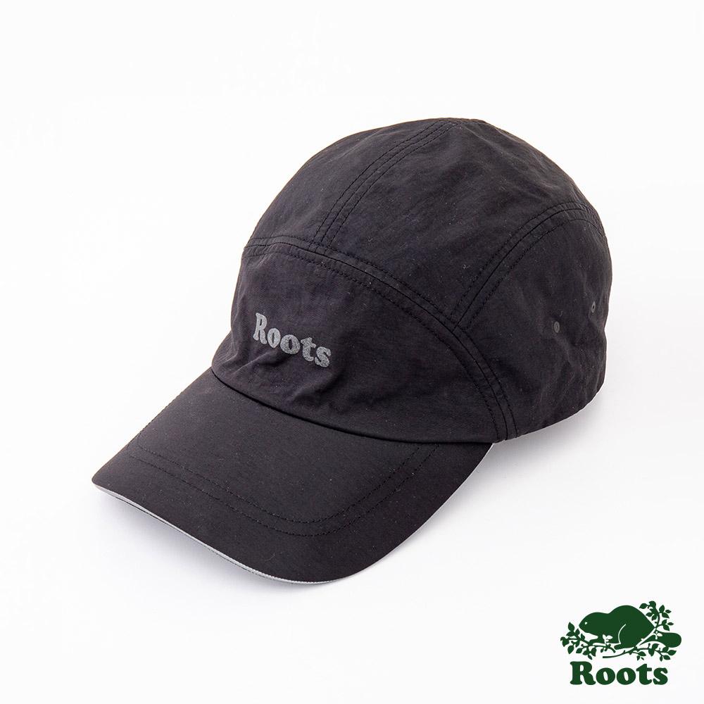 Roots配件- 慢跑棒球帽-黑