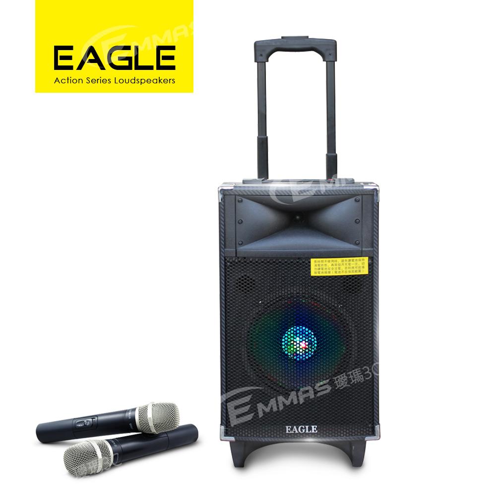 EAGLE行動藍芽拉桿式擴音音箱 無線麥克風版 ELS-178