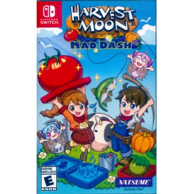 豐收之月:Mad Dash Harvest Moon - NS Switch 中英文美版