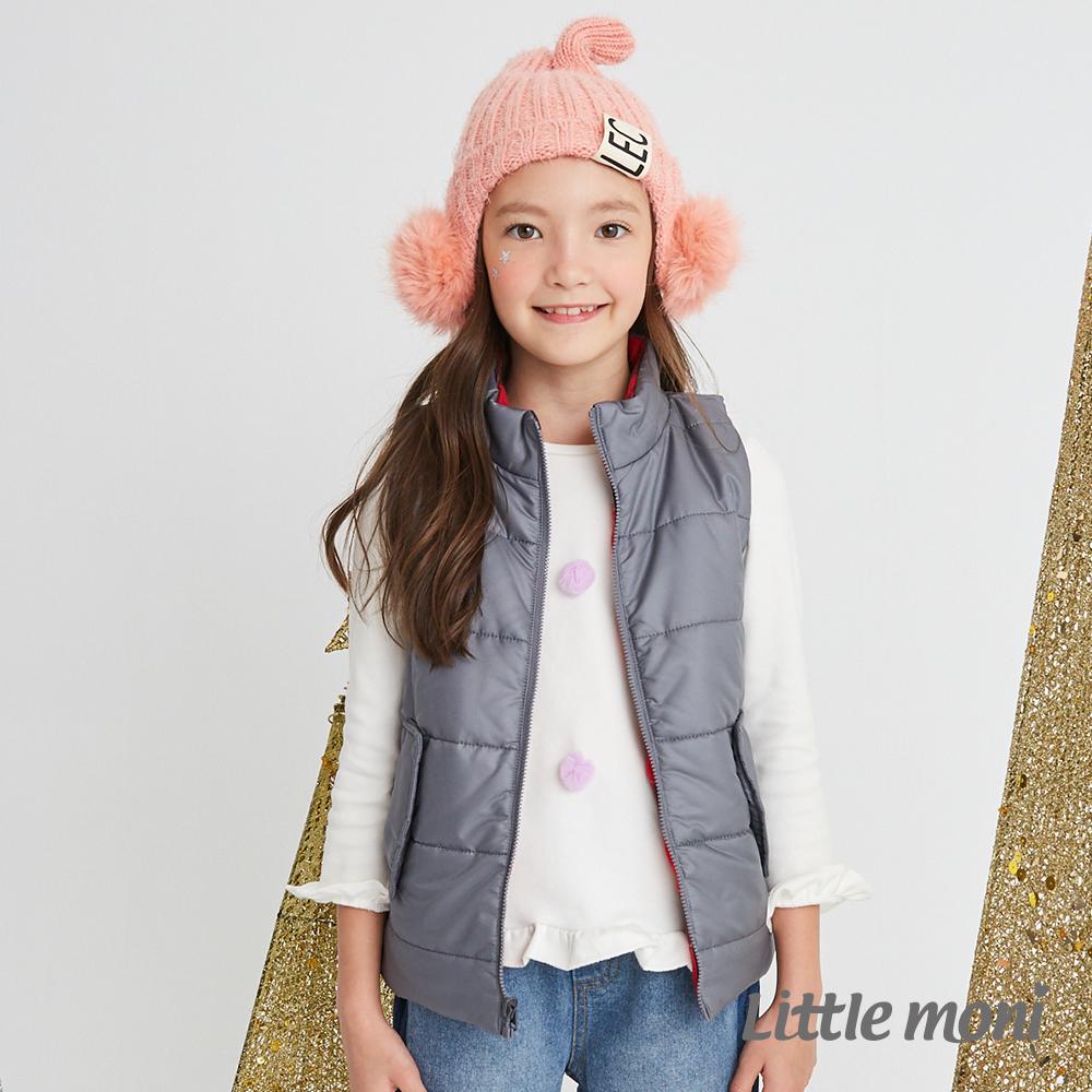 Little moni 3M科技羽絨保暖雙面穿背心(共4色)