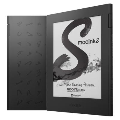 [預購]Readmoo 讀墨 mooInk S 6吋電子書閱讀器 (硯墨黑)