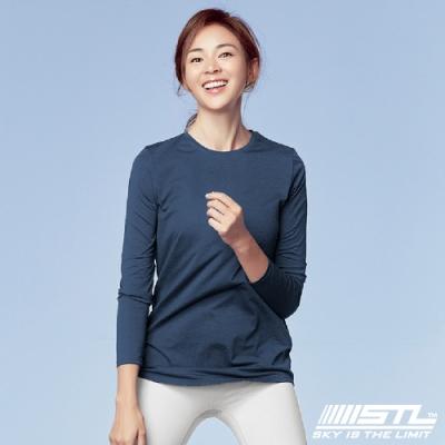 STL Essence Long Sleeve 韓國運動機能長袖上衣 本質午夜藍