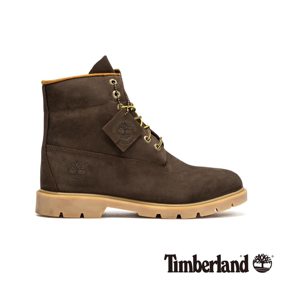 Timberland 男款深棕色基本款六吋靴|6400R @ Y!購物