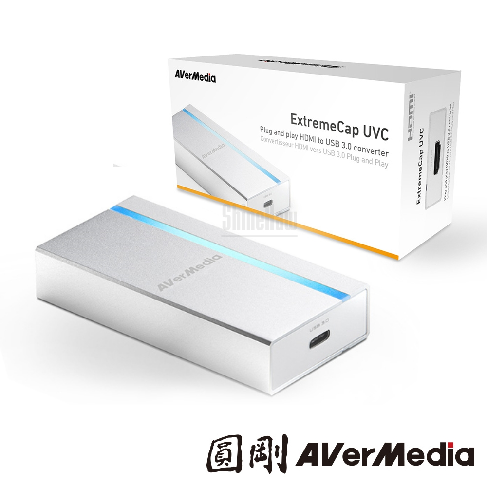圓剛 BU110 免驅動影像擷取器 ExtremeCap UVC