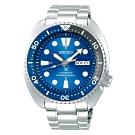 SEIKO 精工PROSPEX運動200米潛水機械錶SRPD21J1-藍X銀/45mm