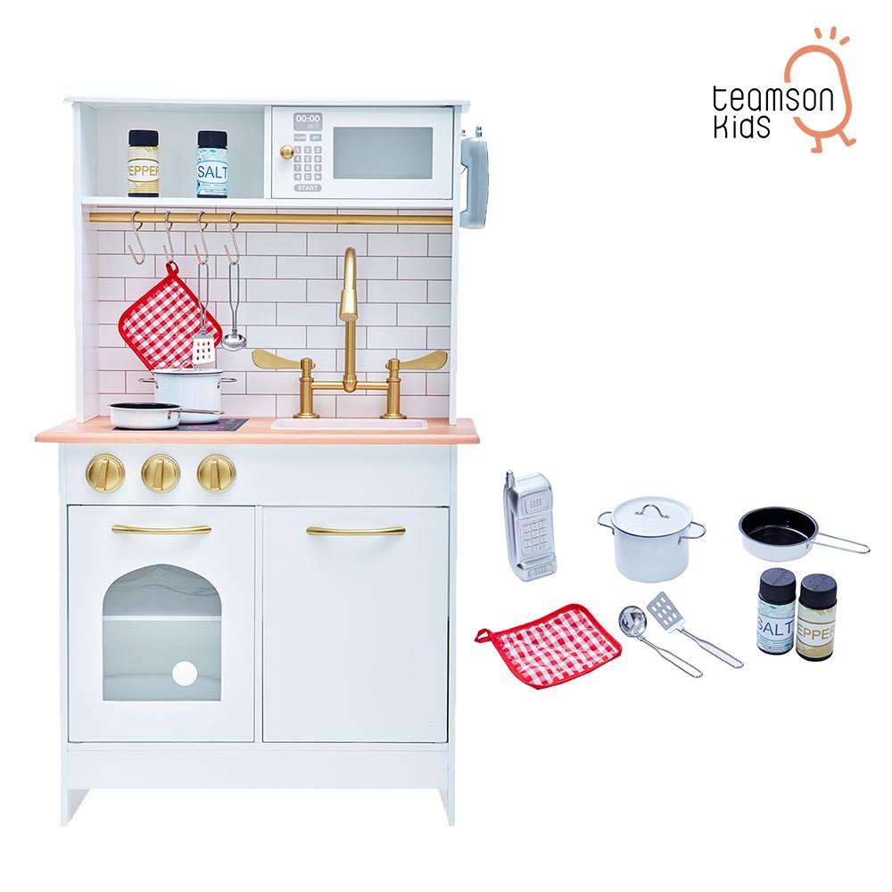 Teamson 波士頓小廚師經典木製廚房玩具(2色) product image 1