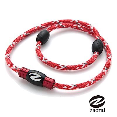 Zaoral甦活磁石項圈(紅.黑)-L/M
