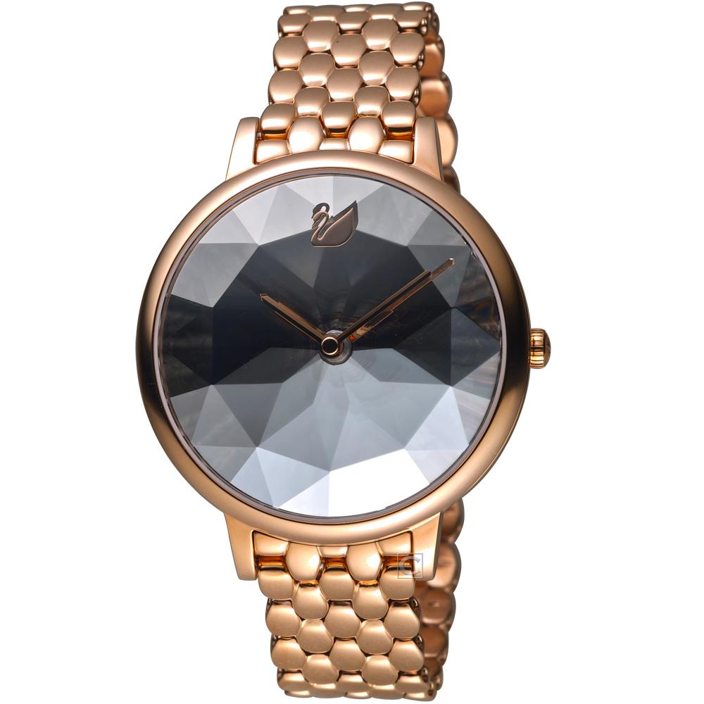 SWAROVSKI 施華洛世奇CRYSTAL LAKE嫵媚腕錶(5416023)