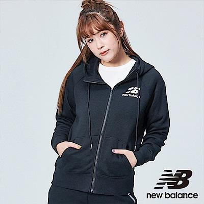 New Balance 刷毛連帽外套 AWJ83506BK 女性 黑色