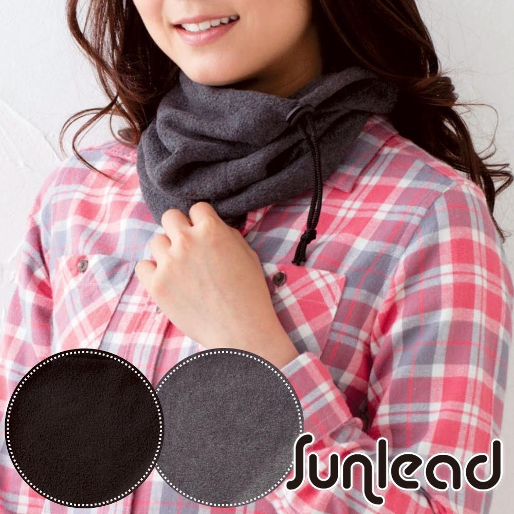 Sunlead 日系保暖防風兩用式防寒軟帽/脖圍