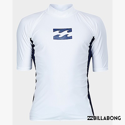 BILLABONG-ALL DAY WAVE PF SS短袖防磨衣-白