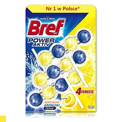 Bref 馬桶芳香清潔球(檸檬香氛) 3入組 50g
