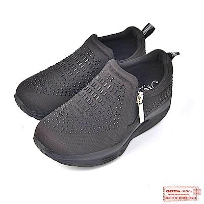 ORIS 女款 璀璨水鑽復古休閒鞋W8894T01