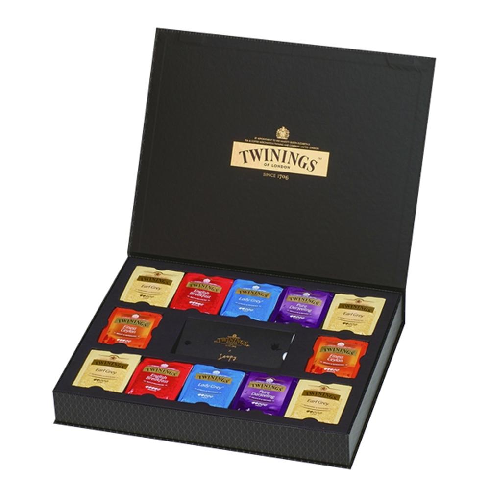 唐寧茶 藝術家禮盒-經典紅茶系列(48茶包)