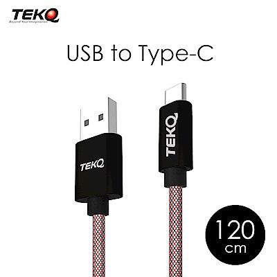 TEKQ uCable TypeC USB 資料傳輸充電線 120cm