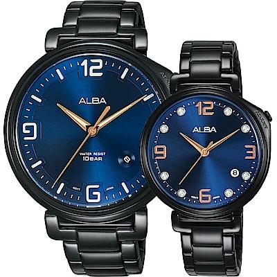 ALBA雅柏 Tokyo Design 原創情人節限定對錶