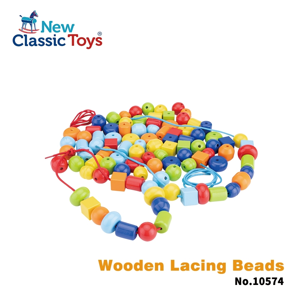 荷蘭 New Classic Toys 木製DIY串珠盒 10574