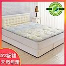 (獨家降)LooCa 防蹣x防蚊x釋壓超蓬鬆日式床墊(共三款)-雙人5尺