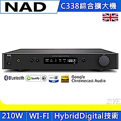 NAD C338 數位/類比兩用綜合擴大機