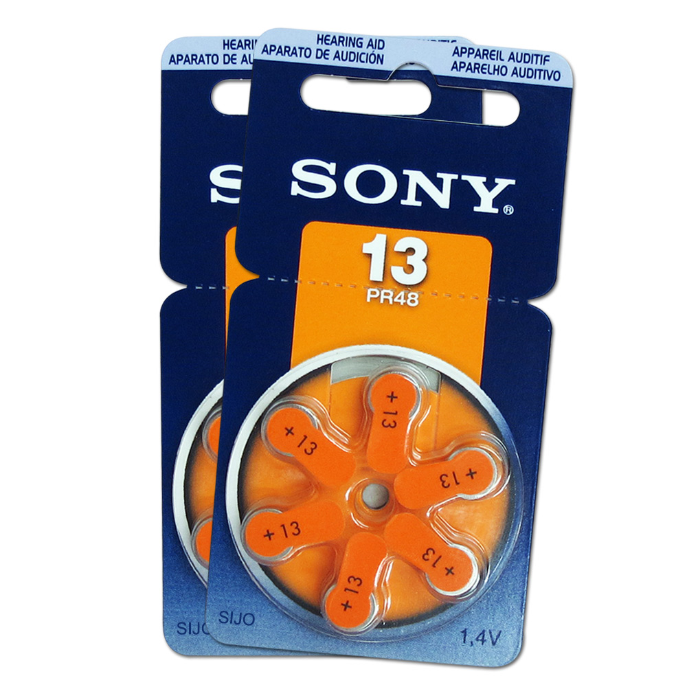 SONY PR48/S13/A13/13 空氣助聽器電池(2卡12入) @ Y!購物