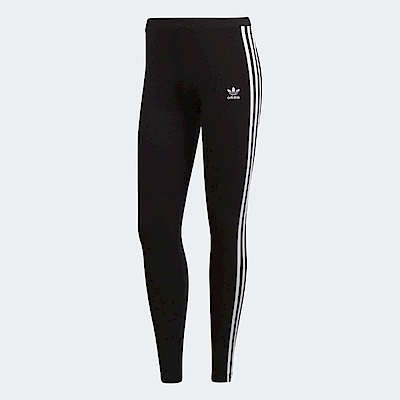 adidas 緊身褲 3 Stripes Leggings 女款