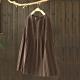 素色褶皺鬆緊腰針織中長裙寬鬆中長版百褶裙-設計所在