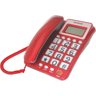 aiwa 愛華 來電顯示有線電話機 ALT-869