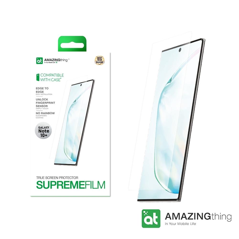 AMAZINGthing 三星 Galaxy Note 10+ 滿版抗衝擊螢幕保護貼