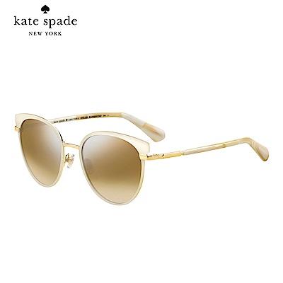Kate Spade JANALEE/S-時尚貓眼太陽眼鏡 粉色