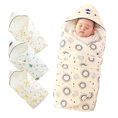 Muslin tree 秋冬嬰兒抱被 信封式全棉新生兒襁褓包巾
