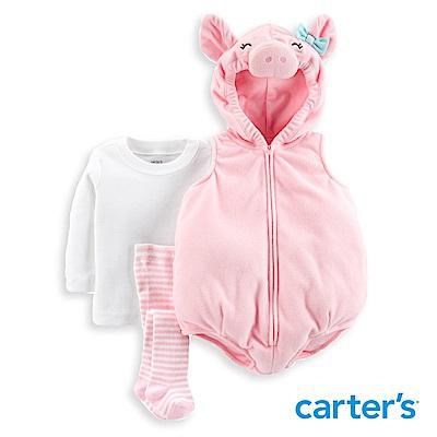Carter s 粉紅豬造型連身裝