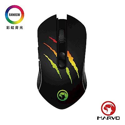 【MARVO魔蠍】M425G 電競RGB滑鼠