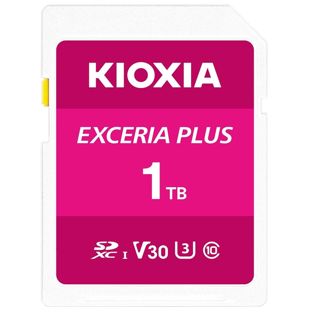 【原TOSHIBA】KIOXIA EXCERIA PLUS 1TB UHS-I V30 U3 SDXC 記憶卡