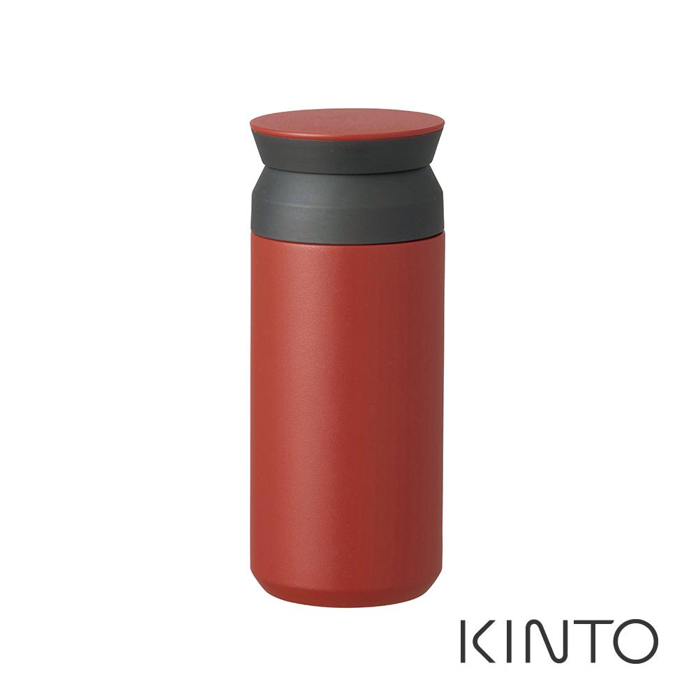 日本KINTO 隨行保溫瓶500ml-紅