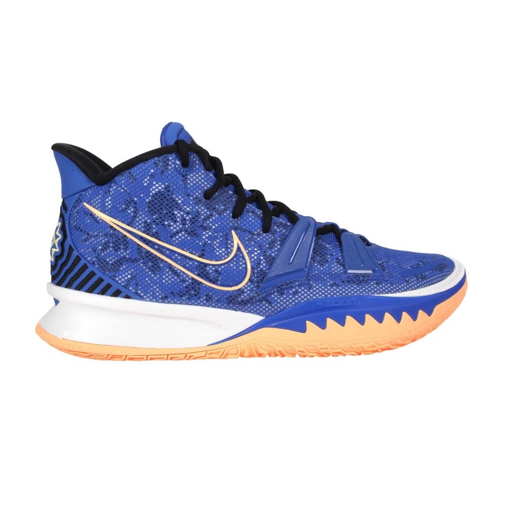 NIKE KYRIE 7 EP 男籃球鞋-訓練 厄文 中筒 氣墊 CQ9327400 藍橘