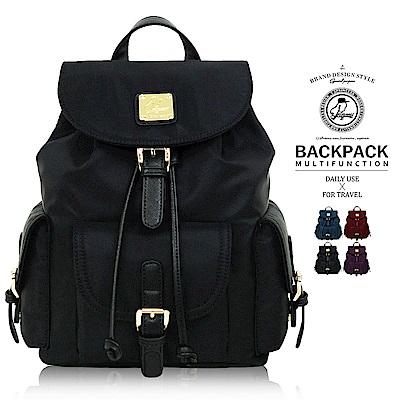 [時時樂賣場]後背包1/2princess精緻尼龍布防水三口袋背包 [A2674]