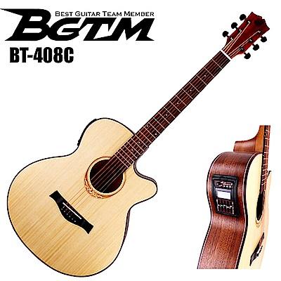 BGTM BT-408CEQ 電木吉他(AA級英格曼雲杉面板 )!最新款