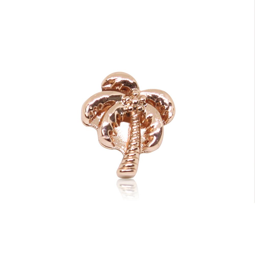 HOURRAE 沁涼夏日 椰子樹 人氣玫瑰金系列 小飾品