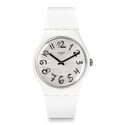 Swatch GESSO 白色俏皮手錶