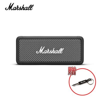 Marshall EMBERTON 攜帶式藍牙喇叭,加贈Marshall KEYCHAIN 導線頭鑰匙圈