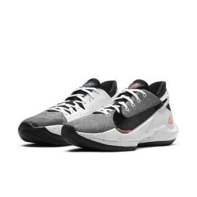 NIKE 籃球鞋 緩震 包覆 運動鞋 男鞋 灰白黑 CK5825-101 ZOOM FREAK 2 EP