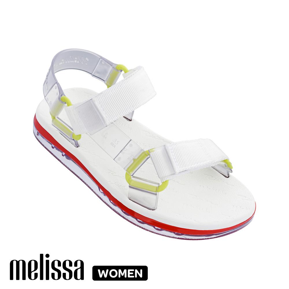 Melissa x Rider 潮流休閒涼鞋-白