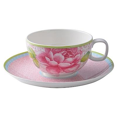 德國Villeroy & Boch唯寶 玫瑰小屋系列 茶杯組 粉紅