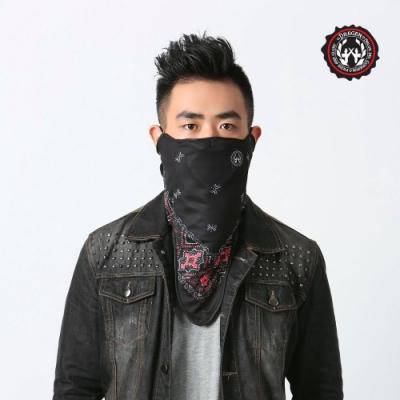 【DREGEN】SW系列-三角巾面罩-華麗夜晚