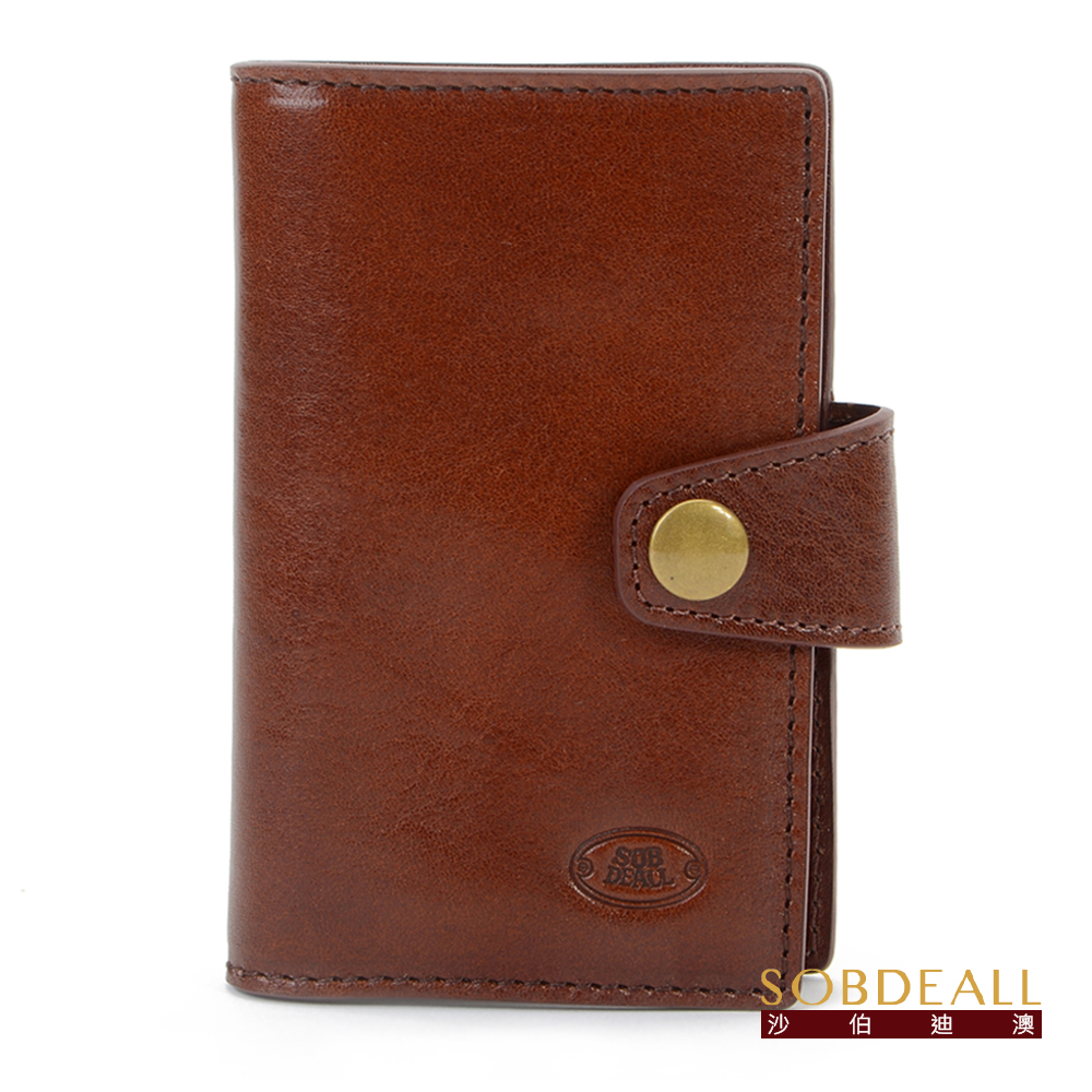 SOBDEALL 26週年限定款男女通用真皮鑰匙包