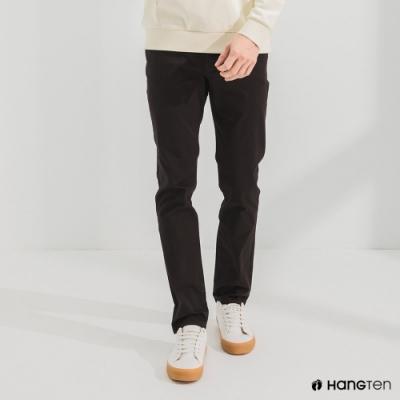 Hang Ten-男裝-經典款-SKINNY FIT緊身長褲-黑色
