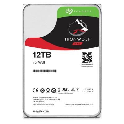 Seagate 那嘶狼 3.5吋 12TB NAS專用硬碟 (ST12000VN0008)