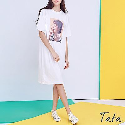 正韓吃蛋糕女孩洋裝 共二色 TATA