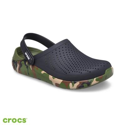 Crocs 卡駱馳 (中性鞋) LiteRide迷彩印花克駱格 206491-0C4