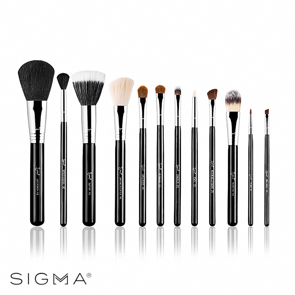 Sigma 刷具12件組(含刷具筒)-Make Me Classy Essential